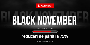 Allview lanseaza campania Black November